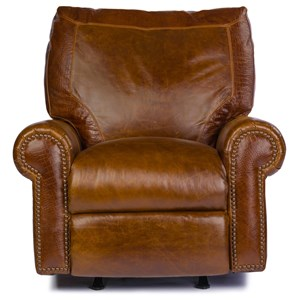 Traditional Leather Rocker Recliner