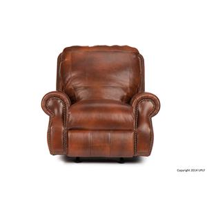 Traditional Rocking Recliner with Nailhead Trim