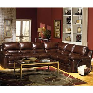 2-Piece Stationary Sectional Sofa
