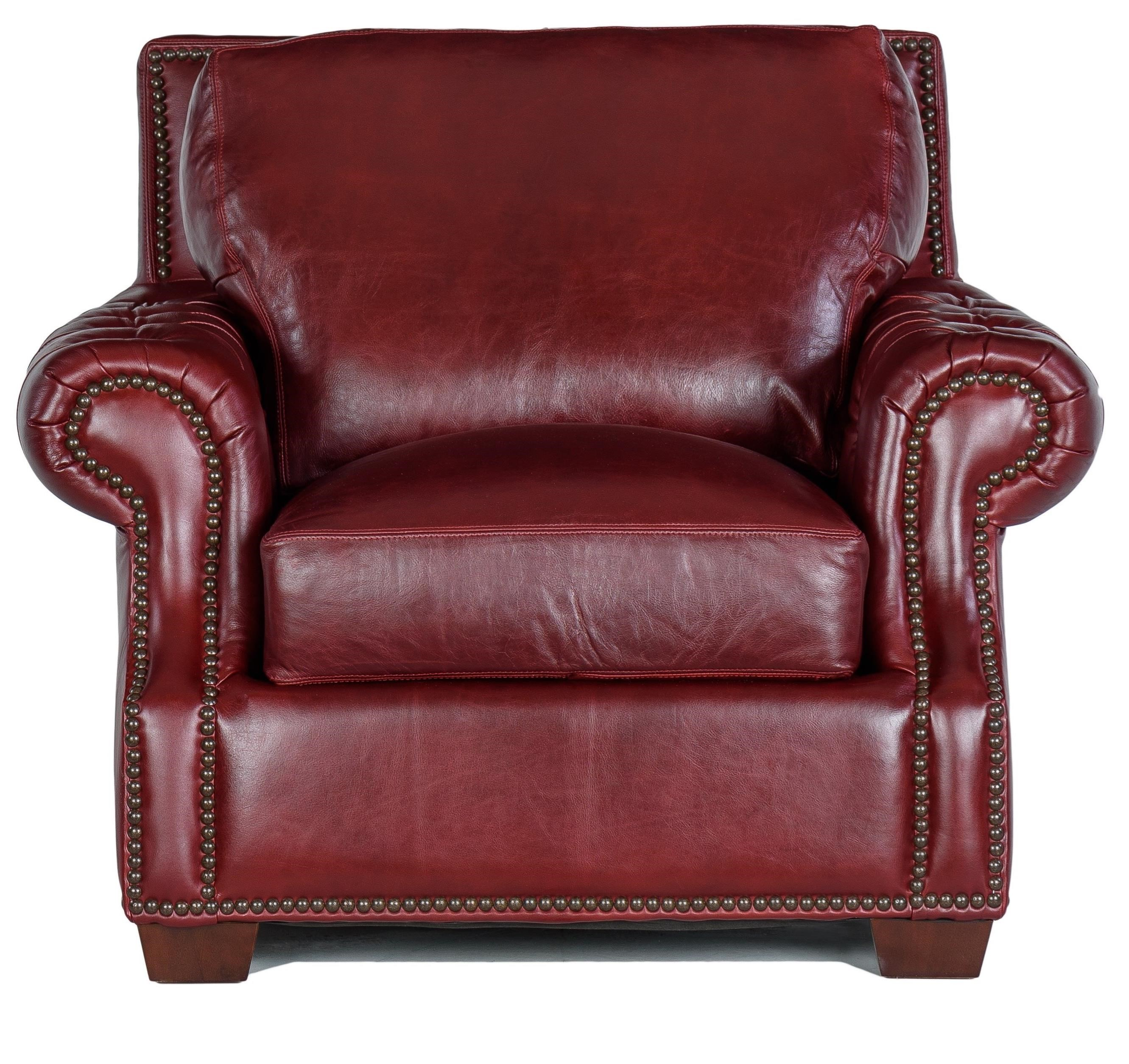 7655 Chair by USA Premium Leather at Dream Home Interiors