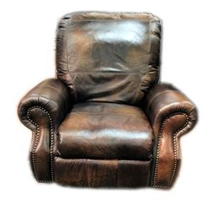 All Leather Recliner