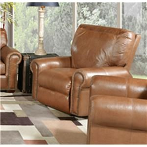 Saddle Power Leather Recliner
