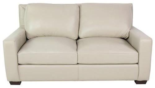 North American Leather Collection Leather Loveseat at Sprintz Furniture