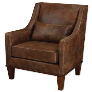 Uttermost Accent Furniture Clay Armchair