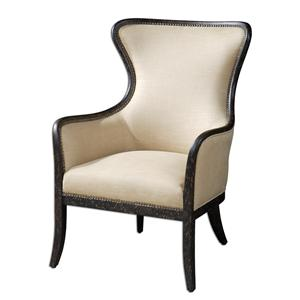 Zander Contemporary Wing Chair