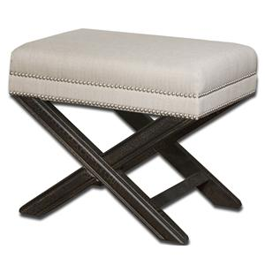 Viera Small Bench or Accent Ottoman