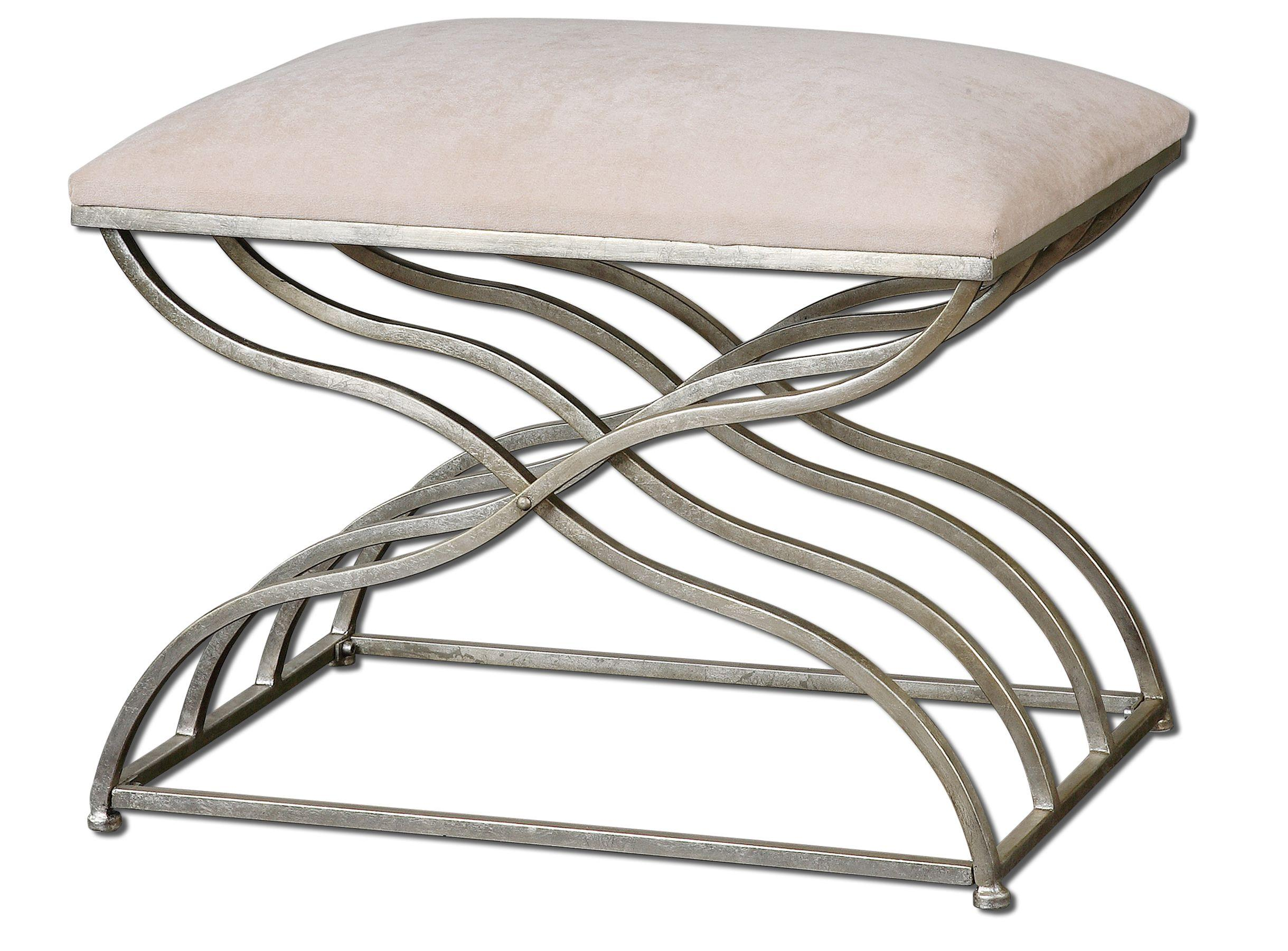 Accent Furniture - Benches Shea Small Bench by Uttermost at Goffena Furniture & Mattress Center