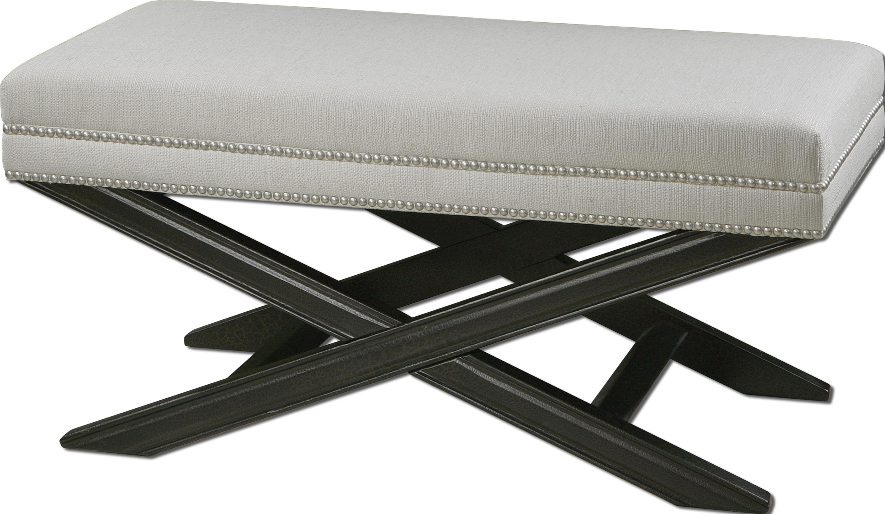 Accent Furniture - Benches Viera Bench by Uttermost at Mueller Furniture