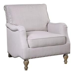 Armstead Antique White Armchair
