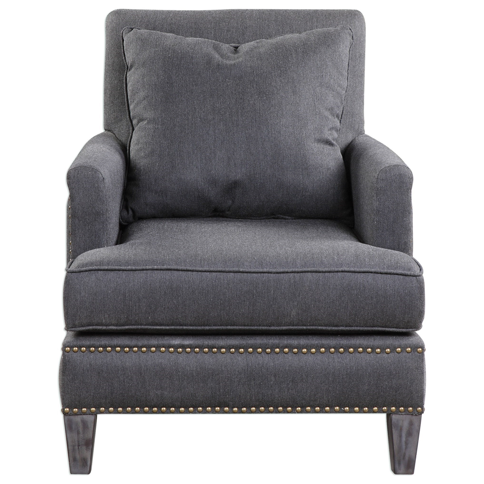 Accent Furniture - Accent Chairs Connolly Armchair by Uttermost at Furniture Superstore - Rochester, MN