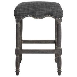 Aiden Brown Gray Bar Stool