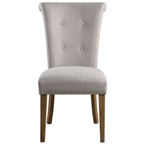 Lucasse Oatmeal Dining Chair
