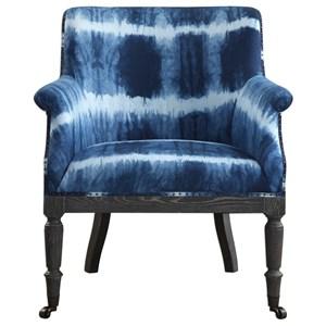 Royal Cobalt Blue Accent Chair
