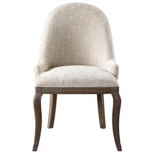 Dariela Chenille Accent Chair