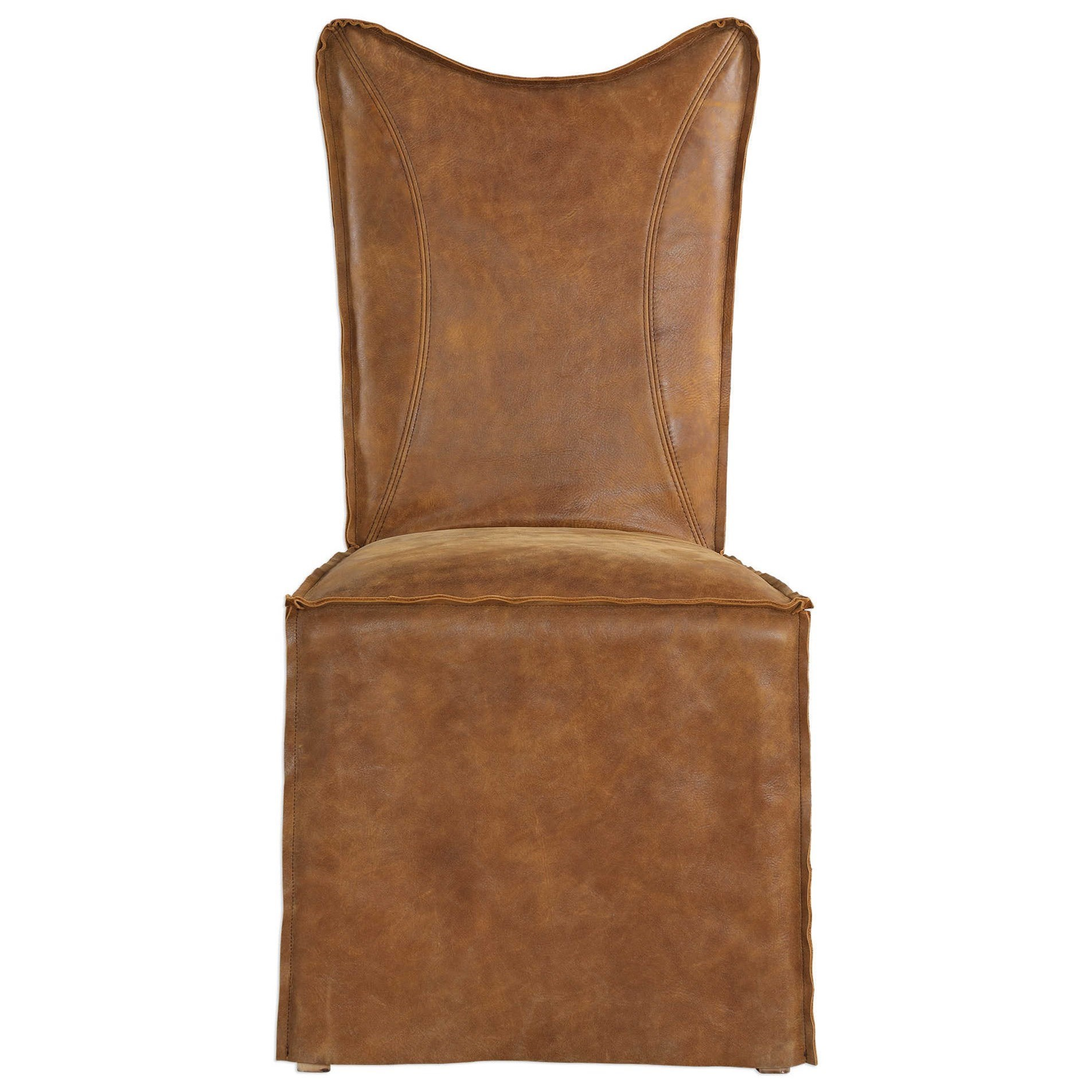 Accent Furniture Delroy Armless Chairs by Uttermost at Michael Alan Furniture & Design