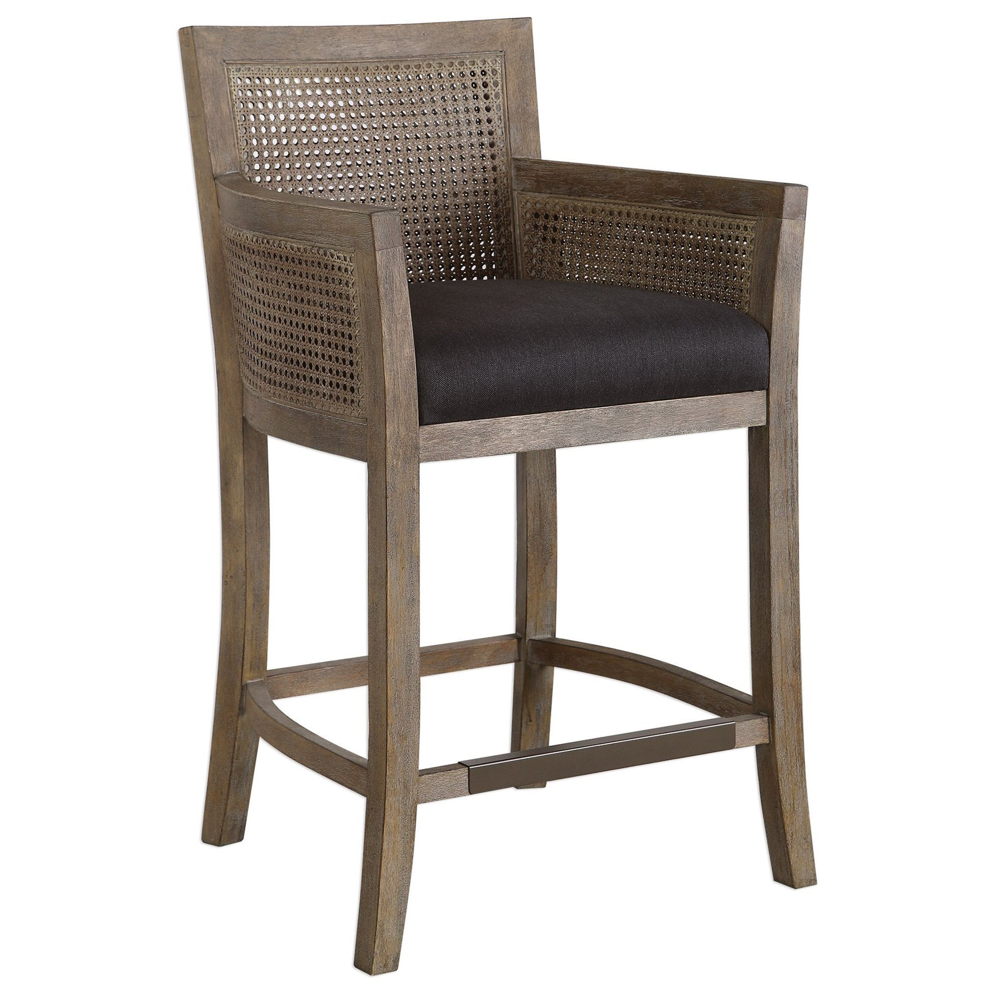 Accent Furniture - Stools Encore Counter Stool by Uttermost at Mueller Furniture