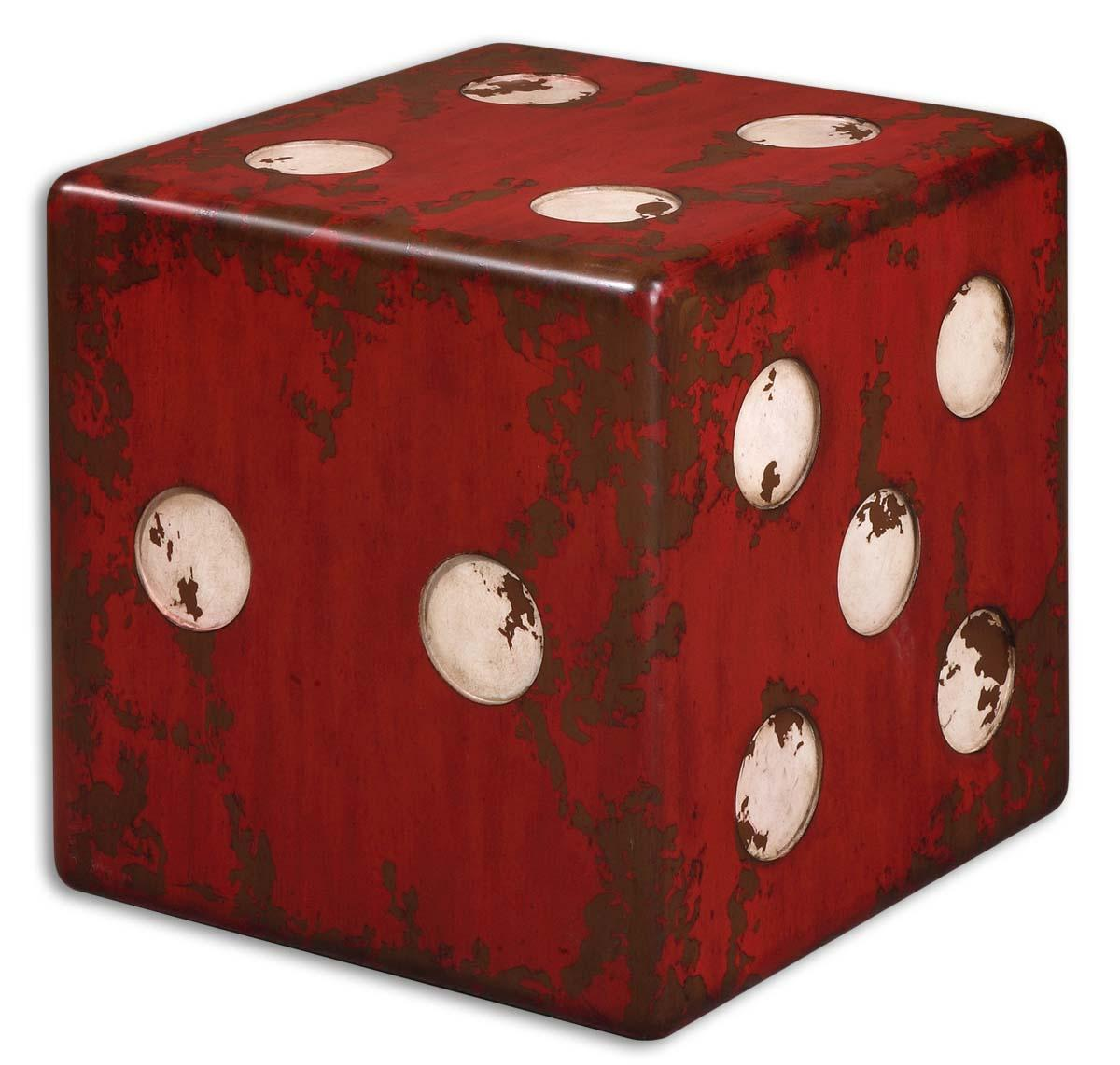 Accent Furniture - Occasional Tables Dice Accent Table by Uttermost at Mueller Furniture
