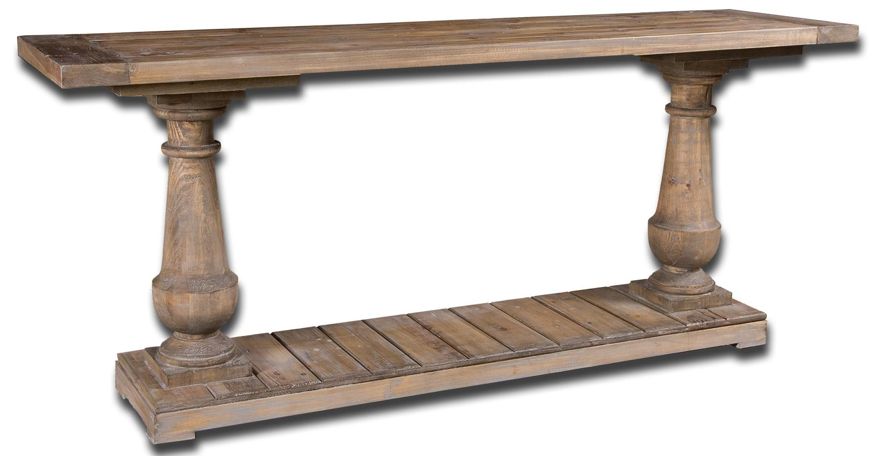 Accent Furniture - Occasional Tables Stratford Console by Uttermost at Upper Room Home Furnishings