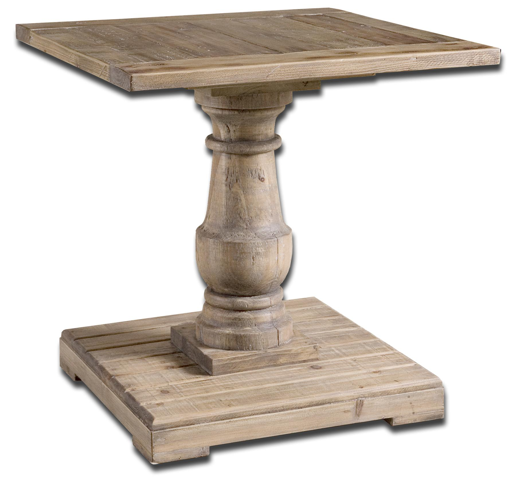 Accent Furniture - Occasional Tables Stratford End Table by Uttermost at Reid's Furniture
