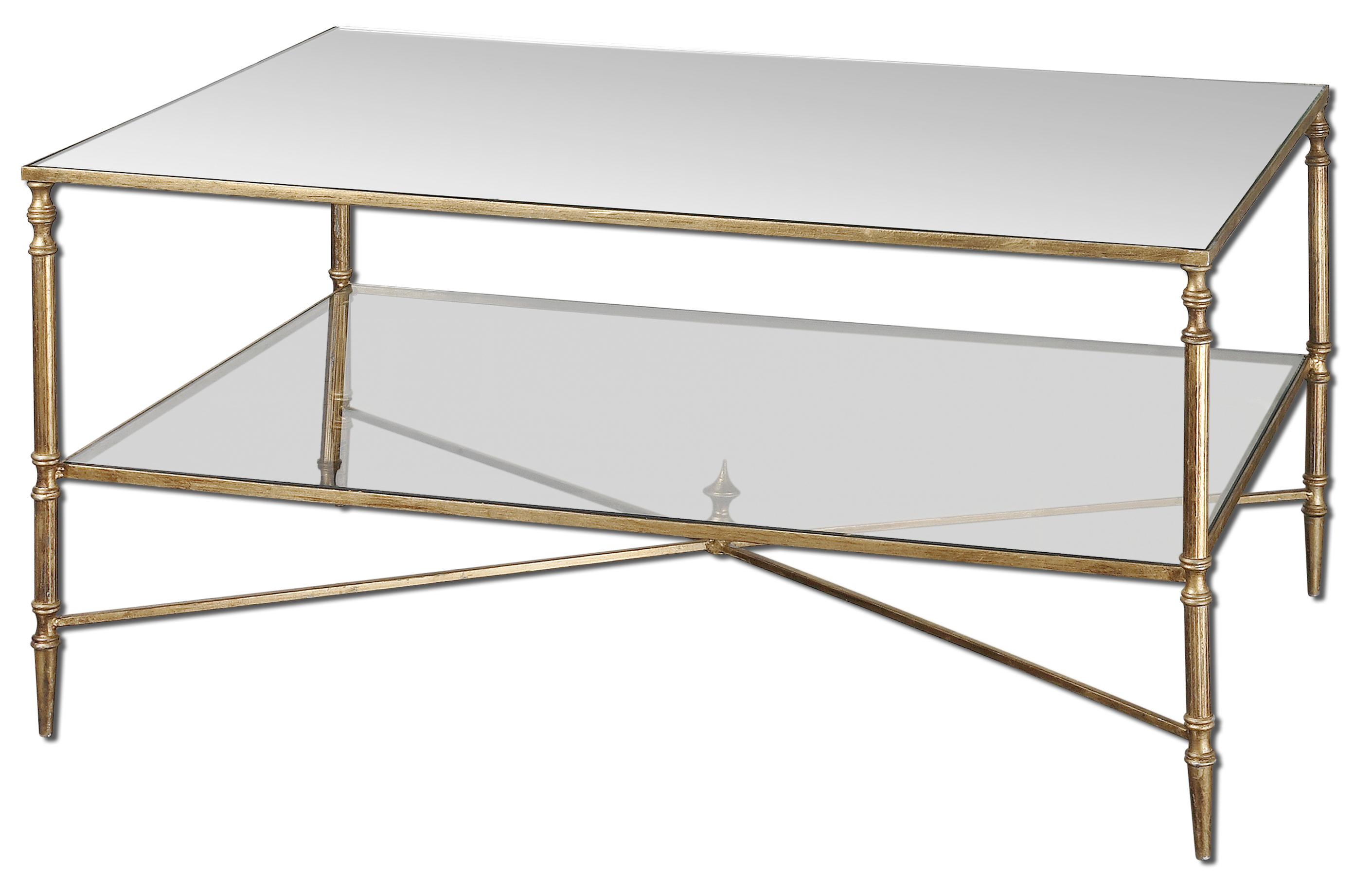 Accent Furniture - Occasional Tables Henzler Coffee Table by Uttermost at Goffena Furniture & Mattress Center