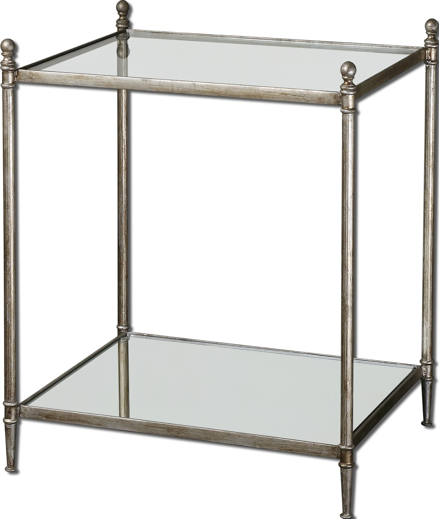 Accent Furniture - Occasional Tables Gannon End Table by Uttermost at O'Dunk & O'Bright Furniture