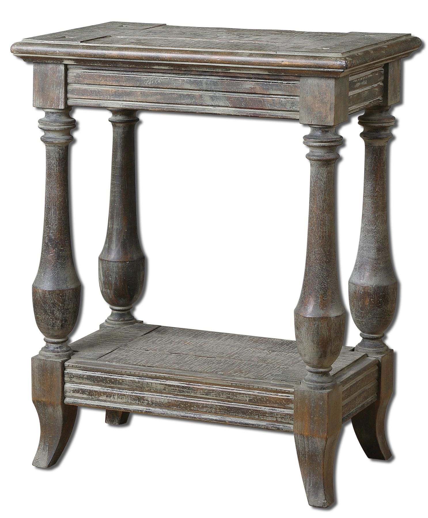 Accent Furniture - Occasional Tables Mardonio Side Table by Uttermost at Upper Room Home Furnishings