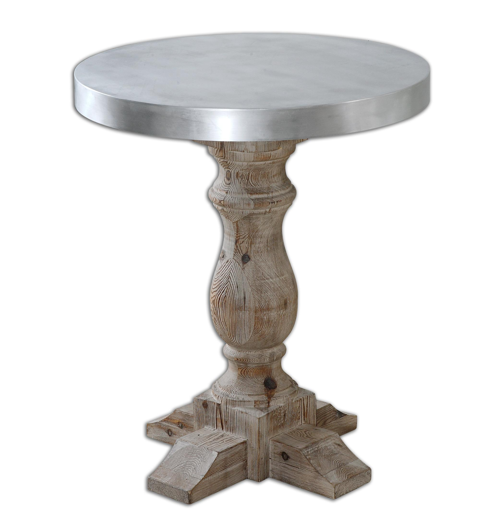 Accent Furniture - Occasional Tables Martel Accent Table by Uttermost at Upper Room Home Furnishings