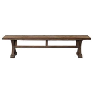 Stratford Salvaged Wood Bench