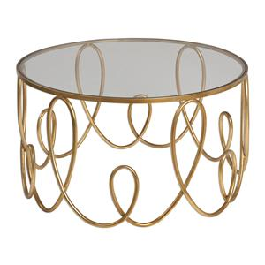 Brielle Gold Coffee Table