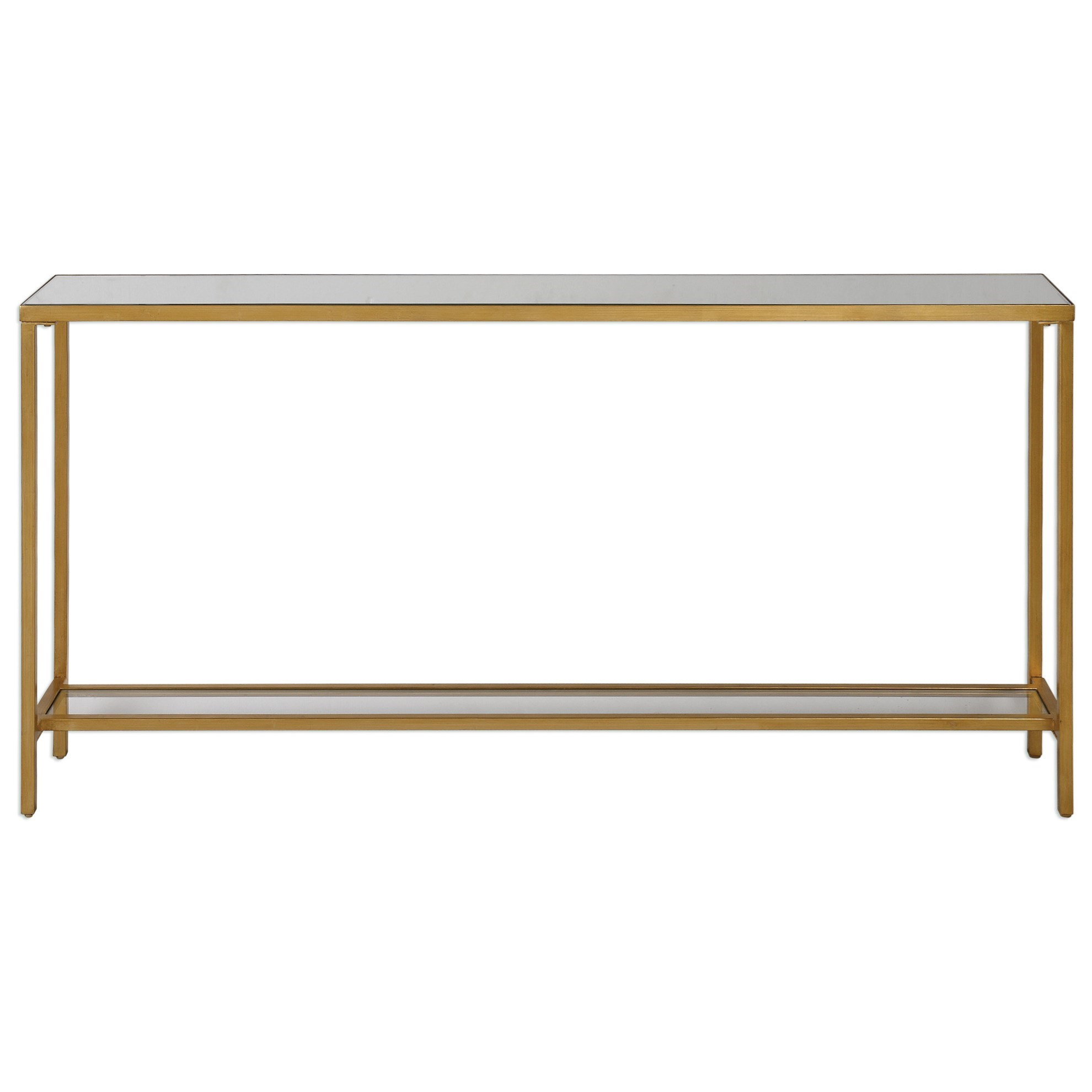 Accent Furniture - Occasional Tables Hayley Console Table by Uttermost at Factory Direct Furniture