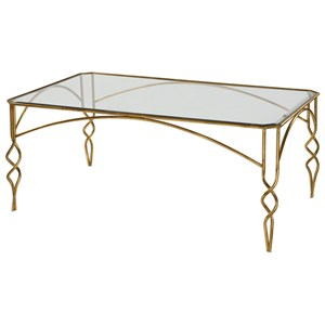 Lora Gold Coffee Table