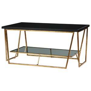 Agnes Black Granite Coffee Table