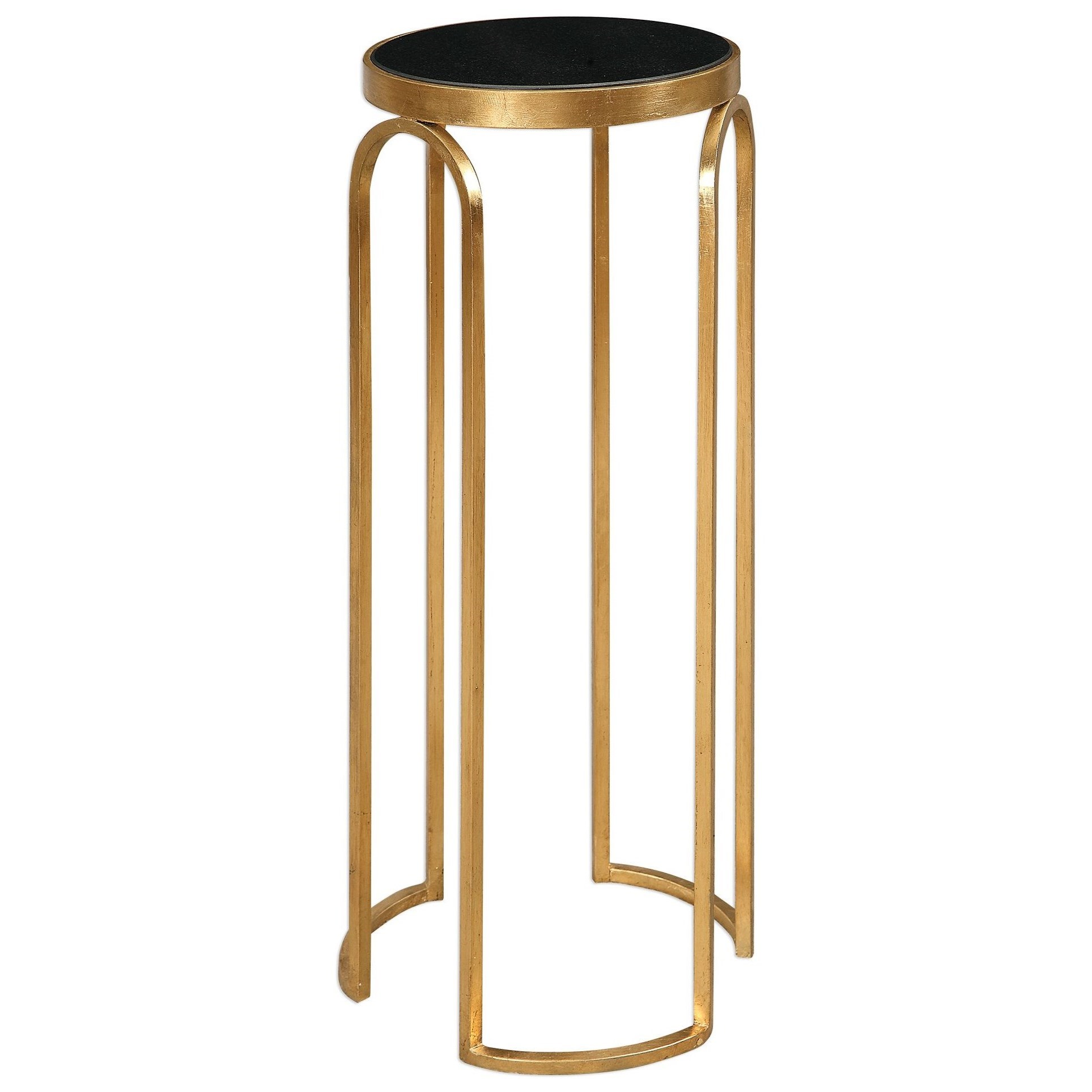 Novalie Gold Accent Table