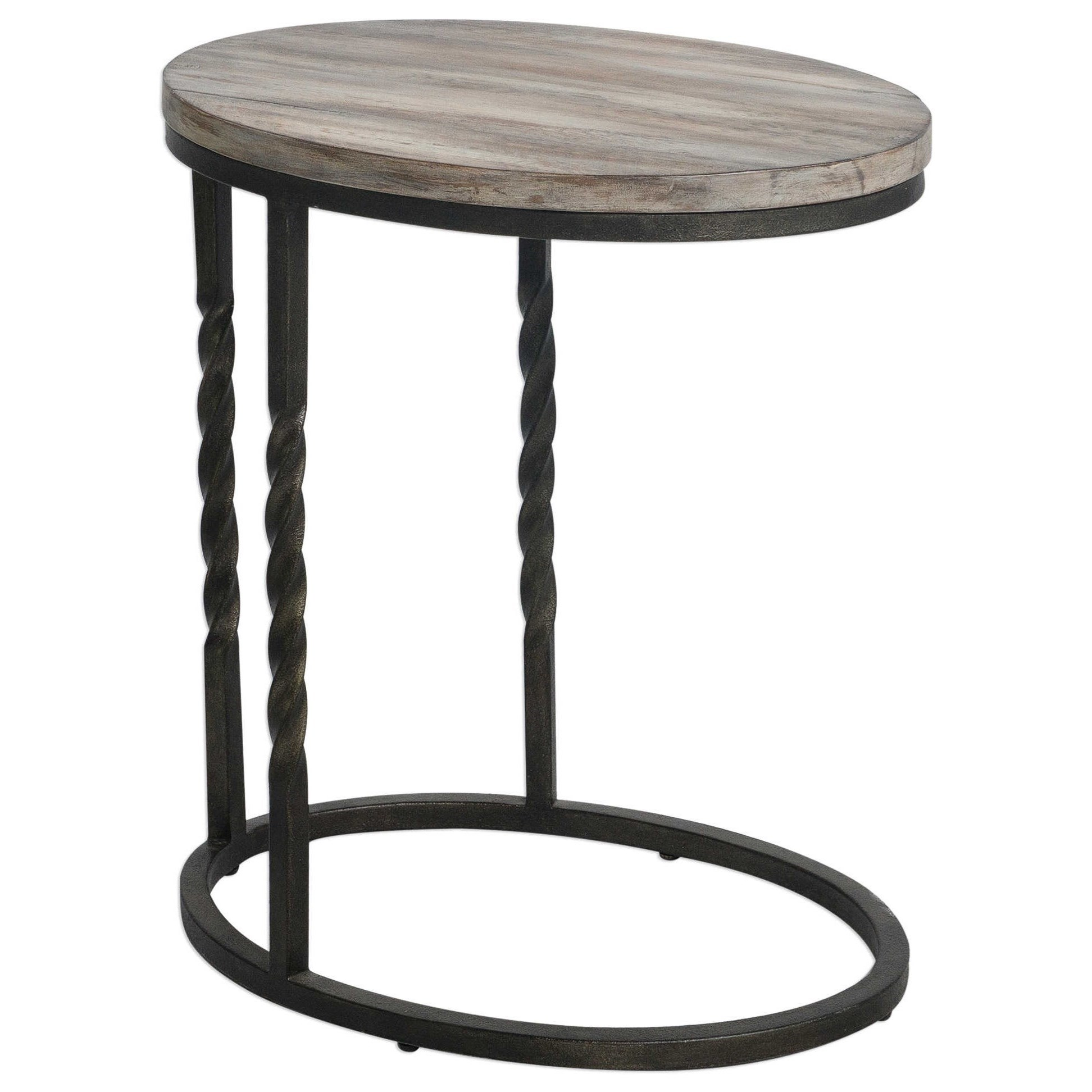 Accent Furniture - Occasional Tables Tauret Cantilever Side Table by Uttermost at O'Dunk & O'Bright Furniture