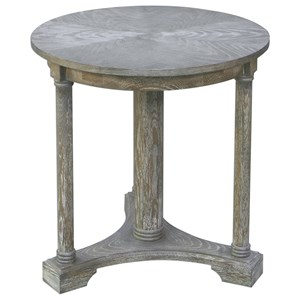 Thema Weathered Gray Accent Table