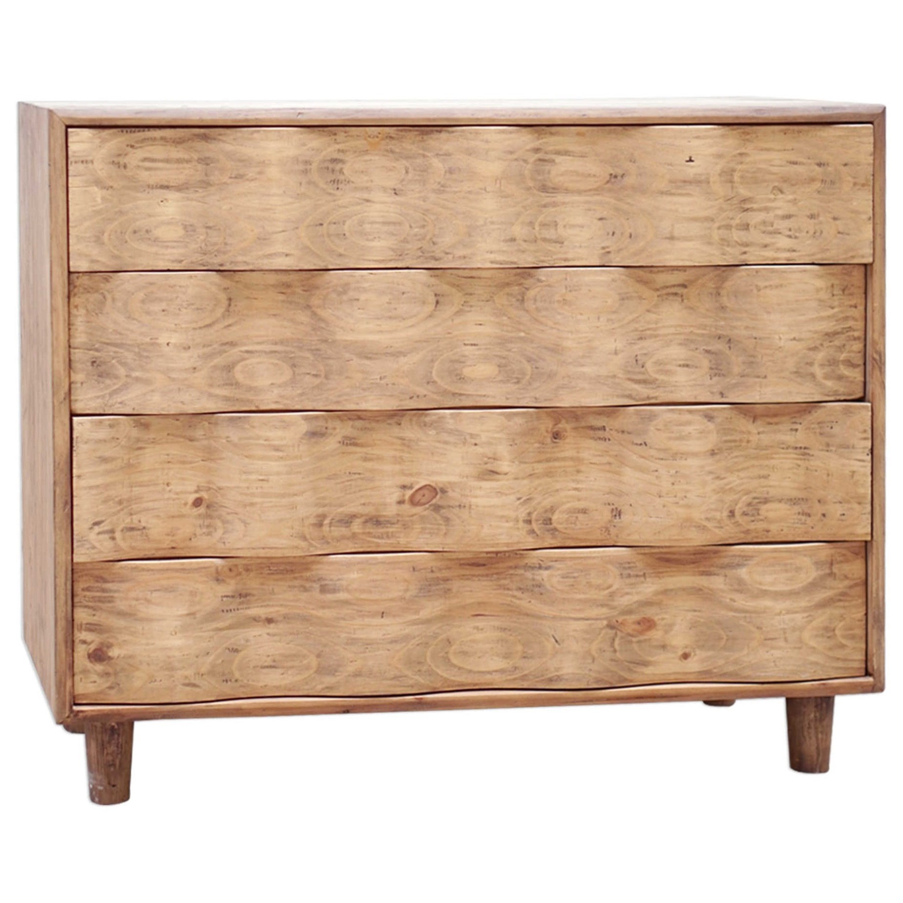 Accent Furniture - Chests Crawford Light Oak Accent Chest by Uttermost at Mueller Furniture