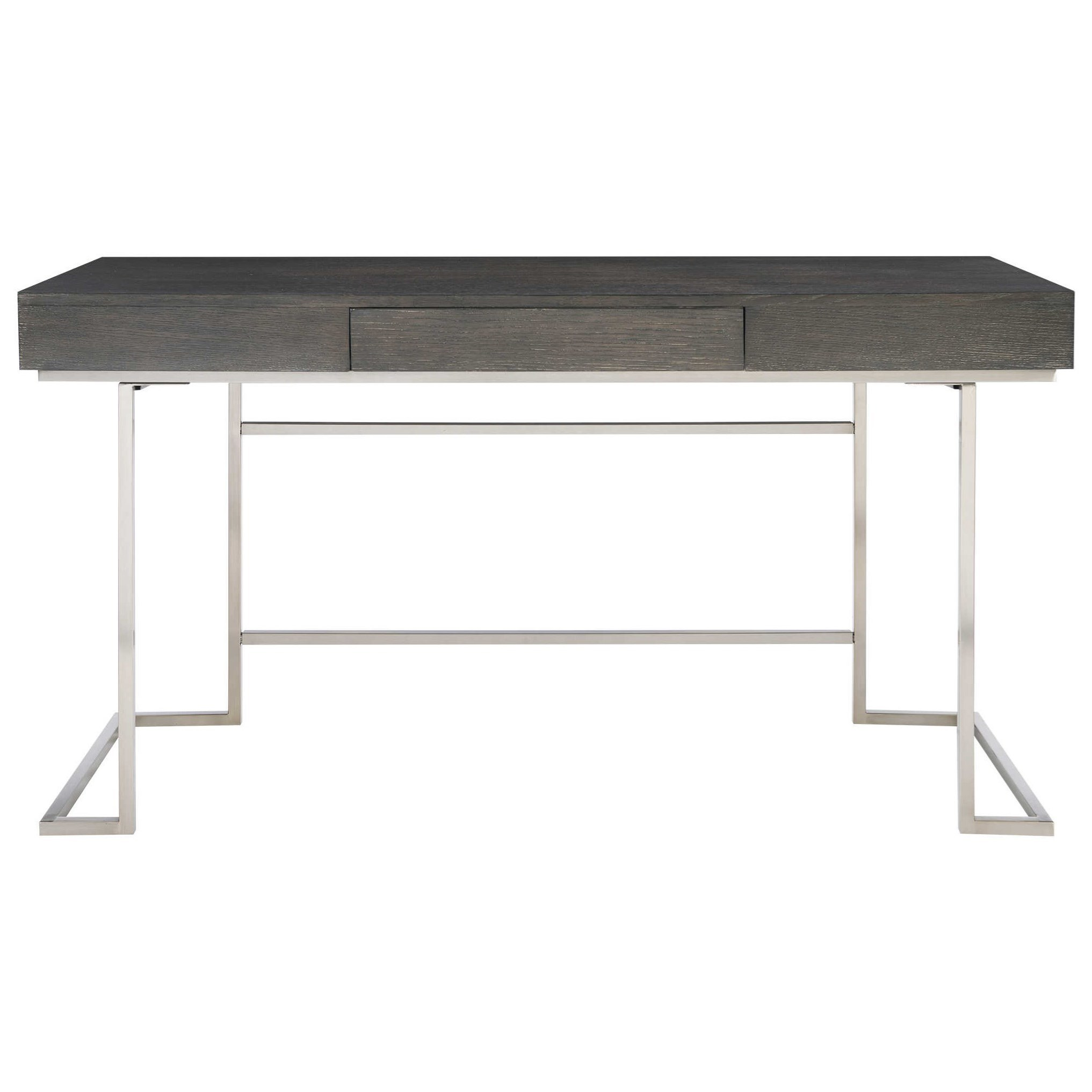 Accent Furniture Claude Modern Oak Desk by Uttermost at Goffena Furniture & Mattress Center