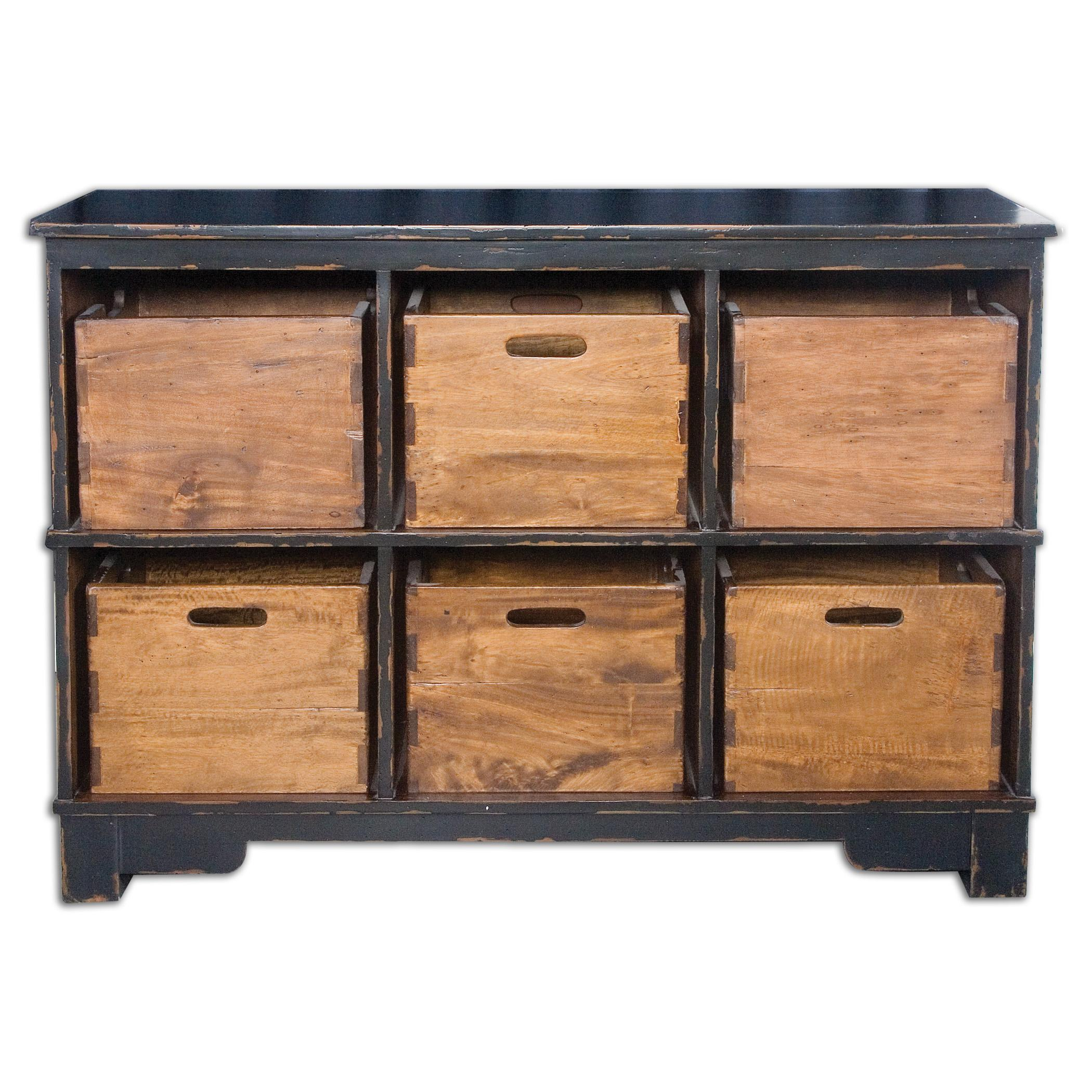 Accent Furniture - Chests Ardusin Hobby Cupboard by Uttermost at Factory Direct Furniture