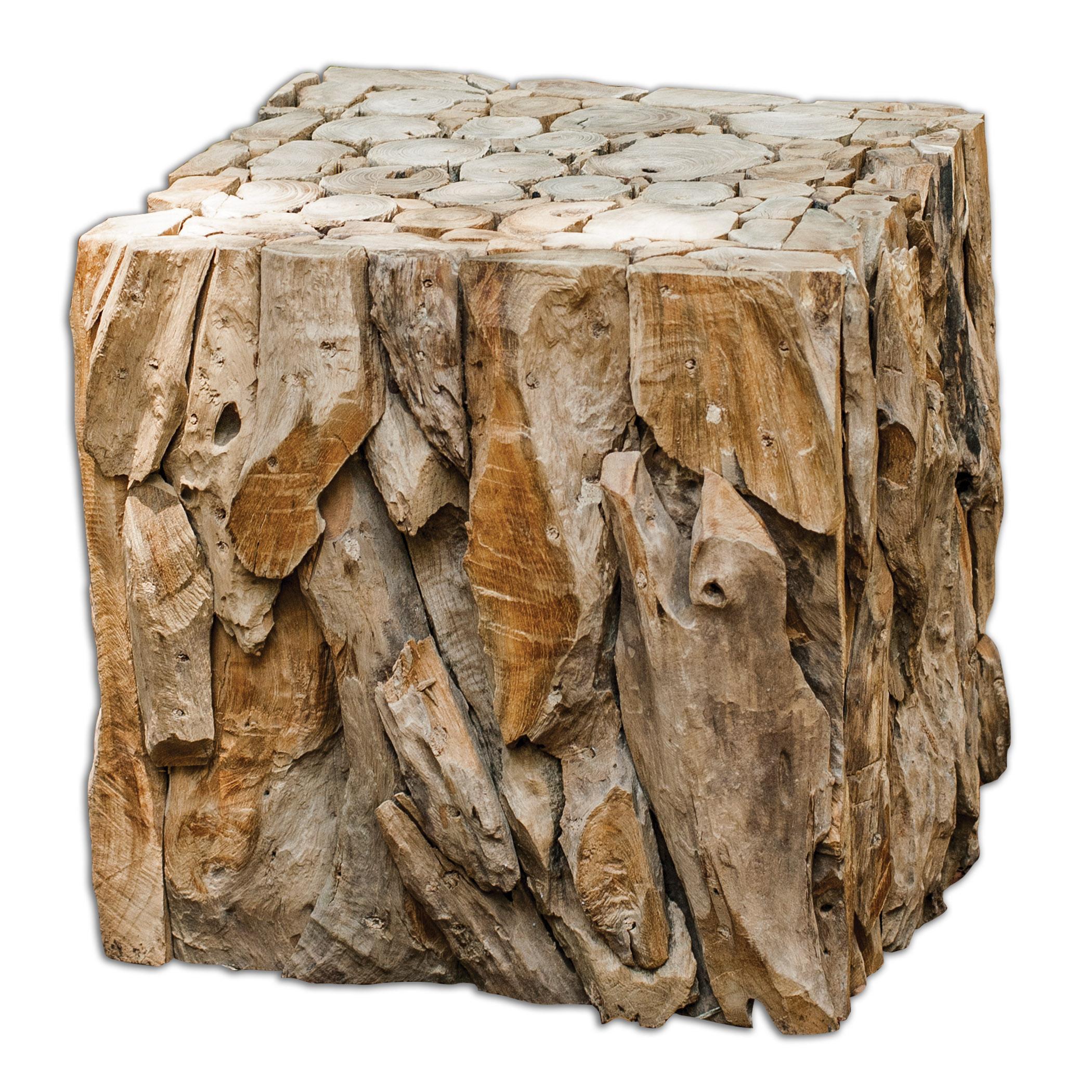Teak Root Bunching Cube