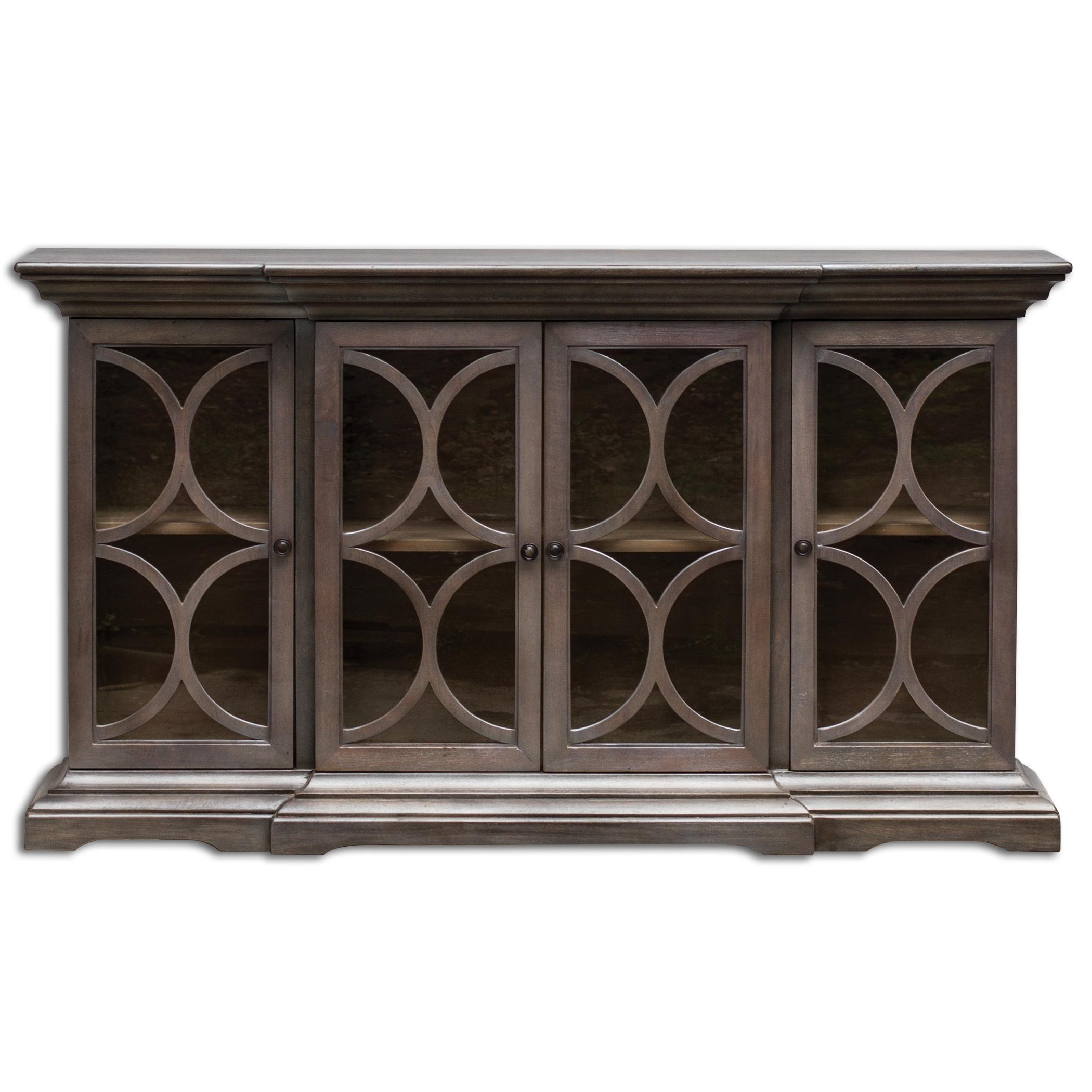Accent Furniture - Chests Belino Wooden 4 Door Chest by Uttermost at Mueller Furniture