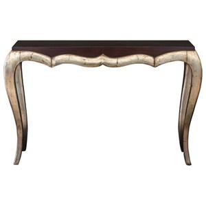 Verena Champagne Console Table