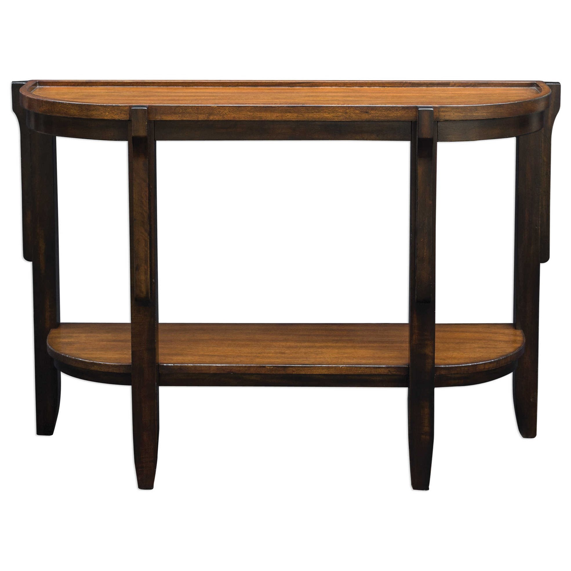 Accent Furniture - Occasional Tables Sigmon Wooden Console Table by Uttermost at Factory Direct Furniture