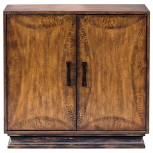 Sanele Honey Stain Console Cabinet