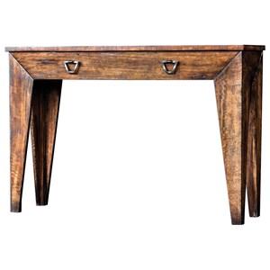 Delara Wood Console Table