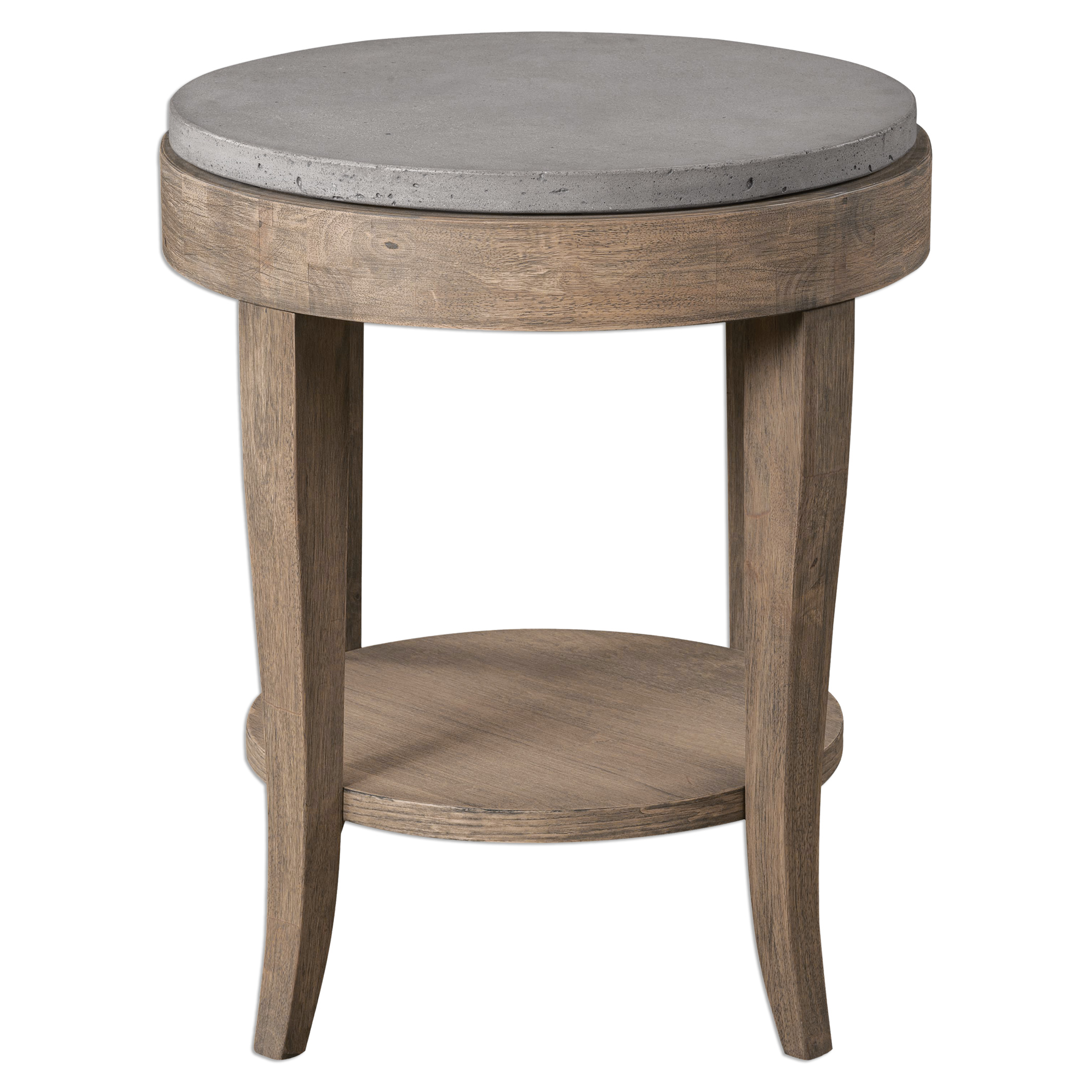 Accent Furniture - Occasional Tables Deka Round Accent Table by Uttermost at Suburban Furniture