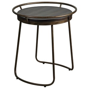 Rayen Round Accent Table