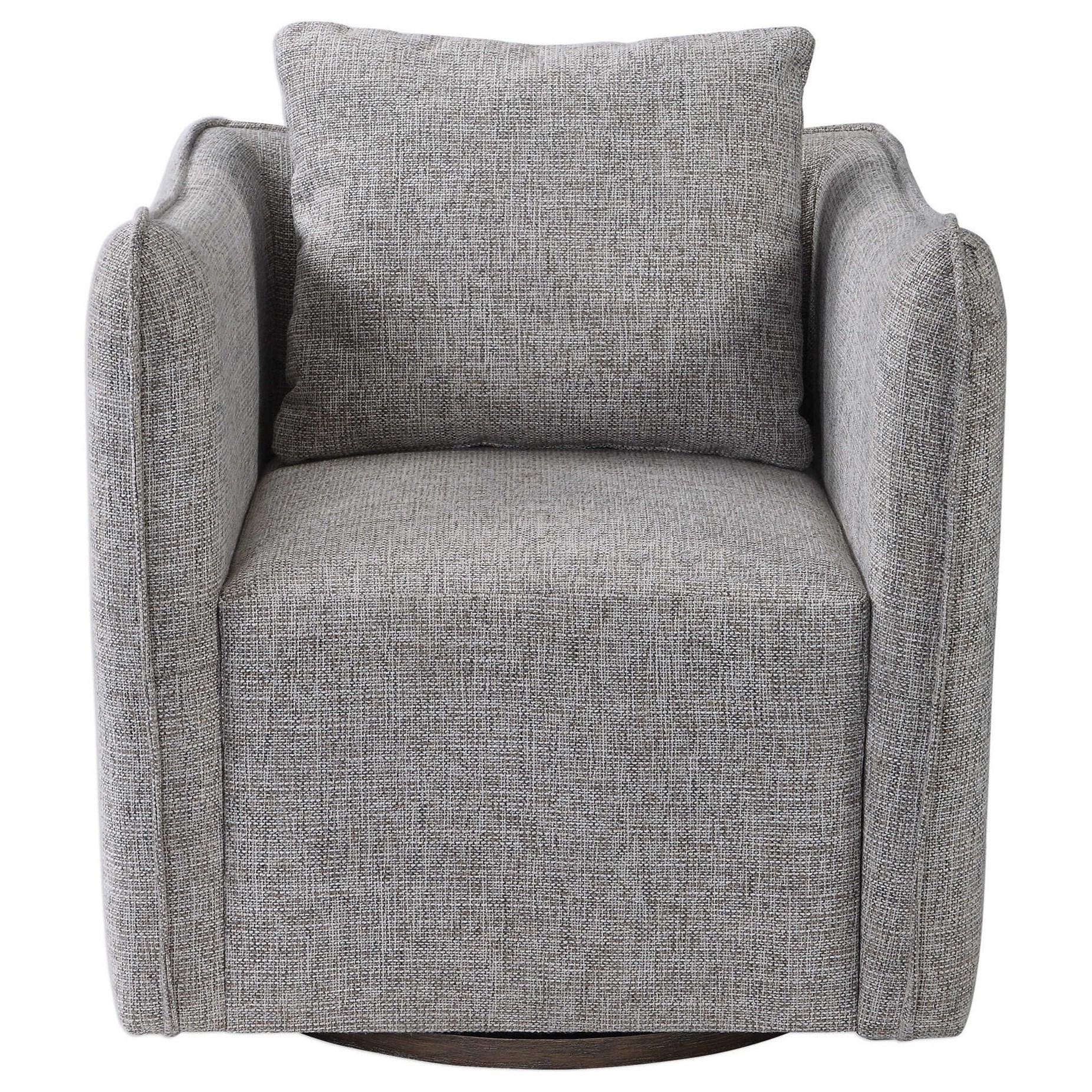 Accent Furniture - Accent Chairs Swivel Chair by Uttermost at Mueller Furniture