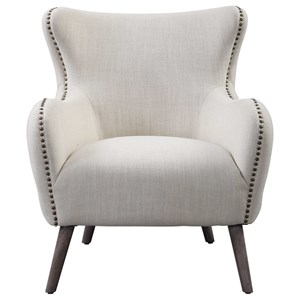 Donya Cream Accent Chair