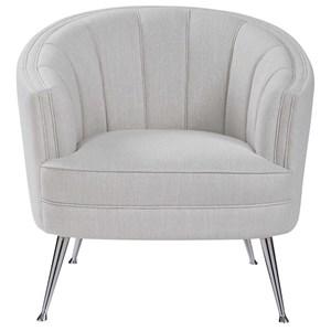 Janie Mid-Century Accent Chair