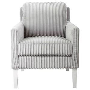 Cavalla Gray Accent Chair